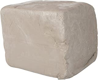 AMACO High Fire Moist Non-Toxic Stoneware Clay, 25 lb, White 38-M