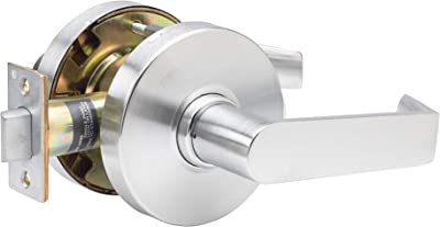TACO DL-LHV10-US26D DL-LHV Series Trans Atlantic Heavy Duty Grade 1 Commercial Cylindrical Passage Lever in Brushed Chrome