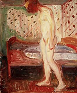 Reproduction/Poster: Edvard Munch La Fille Qui pleure - Affiche, Reproduction Artistique de Haute qualité, 65x80 cm