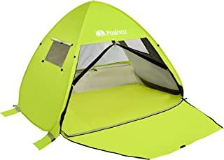 Pasinaz Pop Up Tent 3-4 People Family Beach Tent Camping Shelter Anti UV Sun Shade Outdoor Cabana