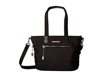 Hedgren Glaze RFID Tote (Black) Tote Handbags