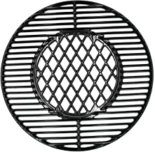Hongso 8835 22 Inch Non-Stick Polished Procelain Coated Grill Grates for Weber Original Kettle Premium 22 Inch Charcoal Grill, 22
