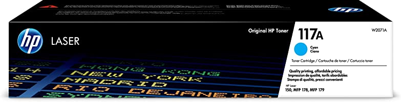 HP 117A 700 SAYFA KAPASİTELİ MAVİ TONER (W2071A)