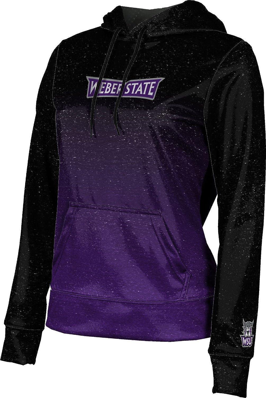 Weber State University Girls' Pullover Hoodie, School Spirit Sweatshirt (Gradient)