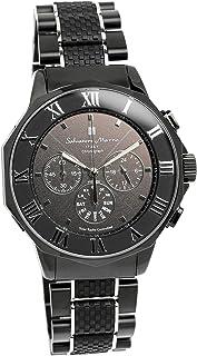[サルバトーレマーラ]腕時計 ウォッチ 電波ソーラー クロノグラフ ビジネス メンズ