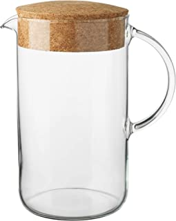 Best glass pitcher with cork lid Reviews