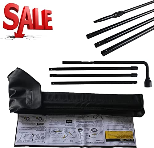 high quality For Chevrolet Chevy GMC Silverado outlet online sale Sierra Spare Tire Repair Tool Lug Wrench Kit #20782708 with Carry wholesale Bag sale