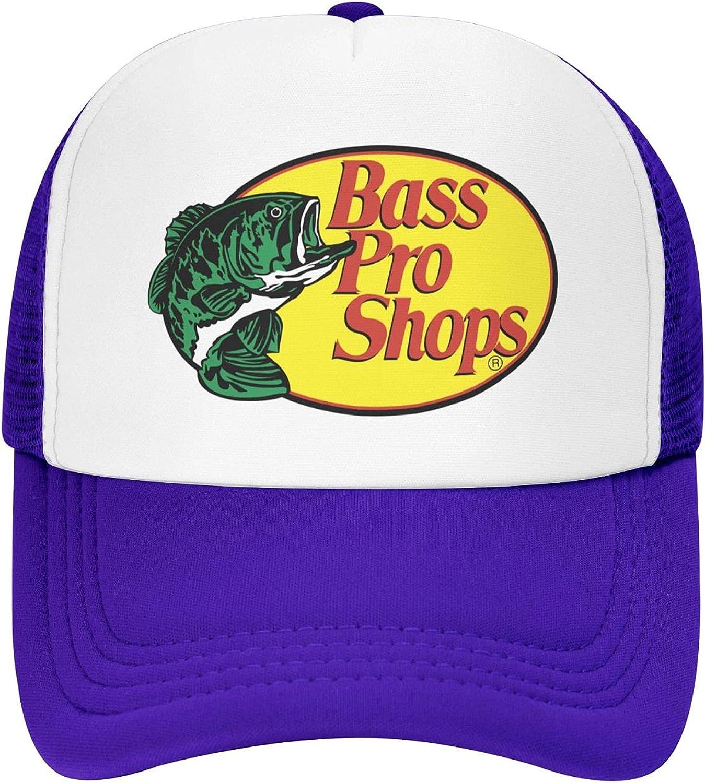 Bass Pro-Shops Trucker Hat Sports Baseball Cap Sandwich Hat Cowboy Hat Hip-Hop Hat