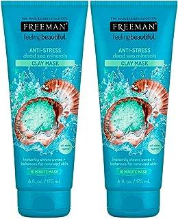 Freeman Feeling Beautiful Dead Sea Minerals Facial Anti-Stress Mask (Pack of 2)