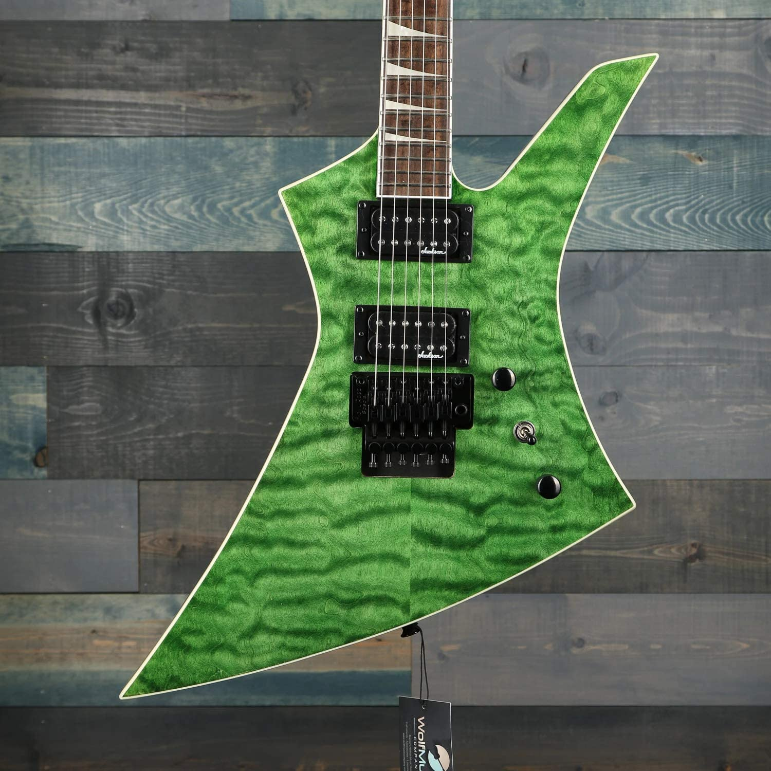 Max 84% OFF Jackson X Series Kelly KEXQ Transparent Electric Ranking TOP4 Guitar Green
