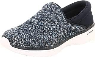 Spunk Flyknit Fabric Slip-on Walking Shoe