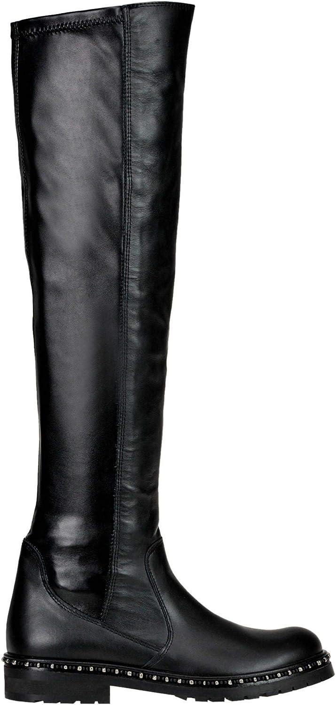 Luxury Fashion Damen MCGLCAS000006041I Schwarz Stiefel    Jahreszeit Outlet  großer Verkauf