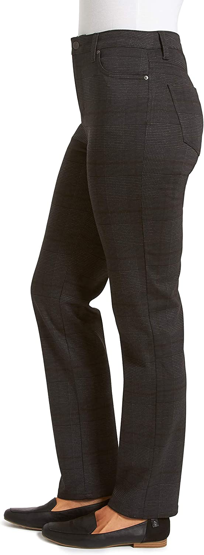 Gloria Vanderbilt Women's Amanda Ponte High Rise Knit Pant