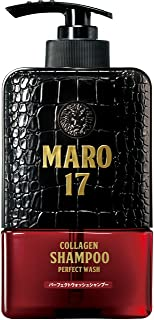 シャンプー パーフェクトウォッシュ 濃密泡 [ジェントルミントの香り] MARO17 マーロ17 350ml メンズ