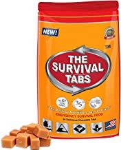 Emergency Preparedness Disaster Management Food Ration 2-day supply 24 tabs 25 Years shelf life Gluten Free and Non-GMO - Butterscotch Flavor