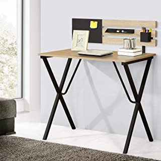 Computer Writing Study Desk Home Office Table Wood Laptop Desk with Shelf Enhanced Larger Gaming Table