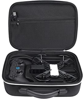 XBERSTAR DJI Tello ケース Gamesirコントローラー・純正充電器・バッテリー3個収納可能 バッグ キャリングケース プロペラなどの小物収納可能 携帯に便利