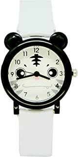 Kids Cartoon Panda Watches Boys Girls Time Teacher Waterproof Wristwatches