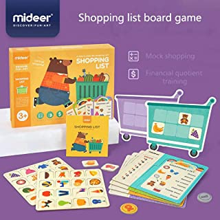 Mideer Toys Shopping List Board Game