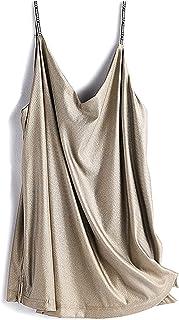 تنورة علوية للأمومة مضادة للإشعاع 5G EMF درع الملابس حماية الحوامل فساتين من الألياف الفضية طبقة مزدوجة، مقاس واحد