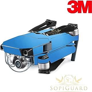 SopiGuard 3M Frost Blue Chameleon Precision Edge-to-Edge Coverage Vinyl Skin Controller Battery Wrap for DJI Mavic Pro