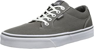 Vans W Winstion Womens Casaul Skate Shoe, grey/white, Size 38.5 EU
