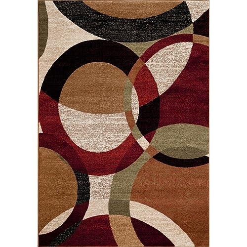 Rust Color Area Carpet Amazoncom