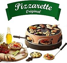 Emerio PO-113255.4 Four à raclette et à pizza Terre cuite / Noir One Size