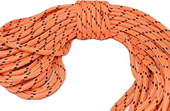 Double Braid Polyester Rope 1/2 in x 100 ft Orange