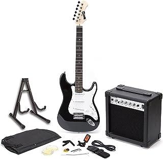 RockJam Superkit Guitarra eléctrica de tamaño completo con