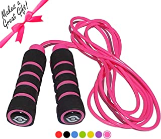 Limm All-Purpose Fitness Jump Rope - for All Ages & Skill Levels, Tangle-Free, Easily Adjustable, Comfortable Foam Handles - Get & Stay Fit, Lose Weight, Best Cardio Workout & Endurance Training