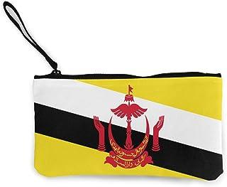 XTYND556 Brunei Flag Wallet for Men Travel