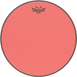 Remo Emperor Colortone Red Drumhead, 14