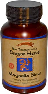 Dragon Herbs Magnolia Sinus 500 mg 100 Veggie Caps