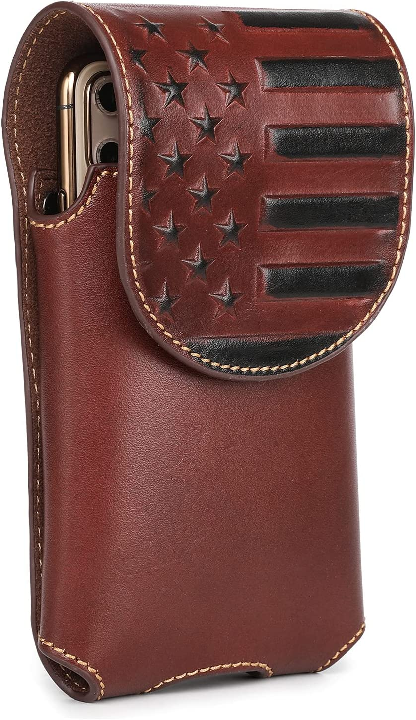 Montana West Real Max 61% OFF Leather Cell Phone Car Max 43% OFF Holster for Belt Great