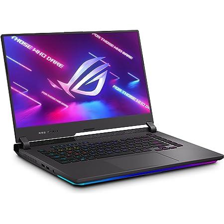 "ASUS ROG Strix G15 (2021) Gaming Laptop, 15.6"" 300Hz IPS Type FHD Display, NVIDIA GeForce RTX 3050 Ti, AMD Ryzen R7-5800H, 16GB DDR4, 1TB PCIe SSD, RGB Keyboard, Windows 10, Black, G513QE-ES76"