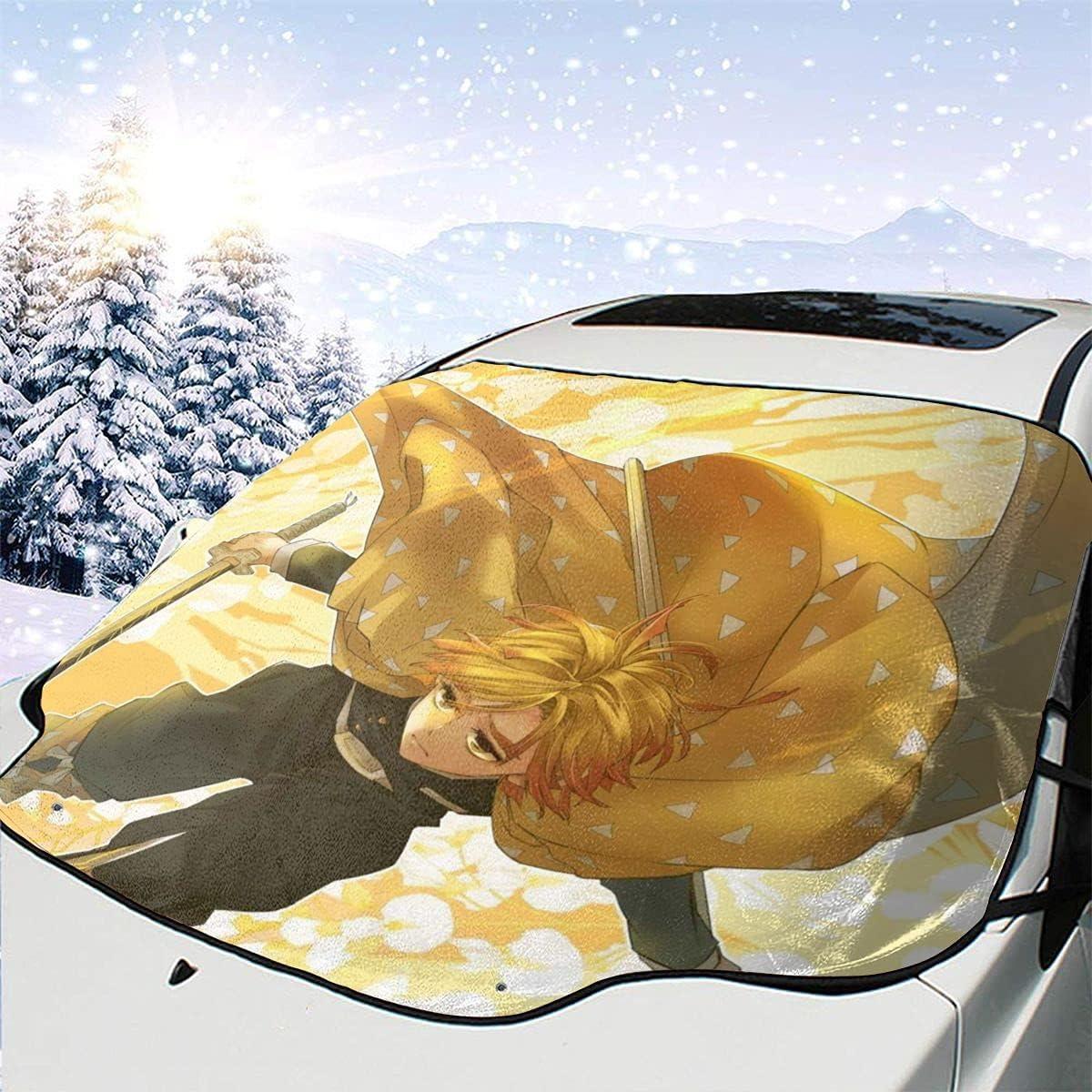 Awhgbnl Ds Zenitsu Anime Car Manga Ranking TOP15 Cover Snow Topics on TV Design Windshield