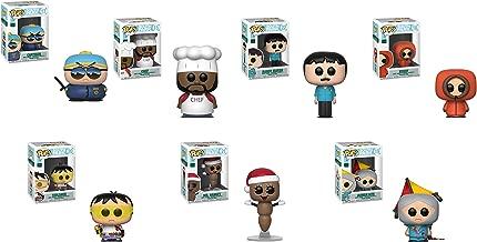 Funko Pop! TV: South Park Set of 7: Kenny, Randy Marsh, Chef, Cartman, Toolshed, Human Kite and Mr Hankey