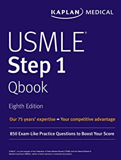 USMLE Step 1 Qbook: 850 Exam-Like Practice Questions to Boost Your Score