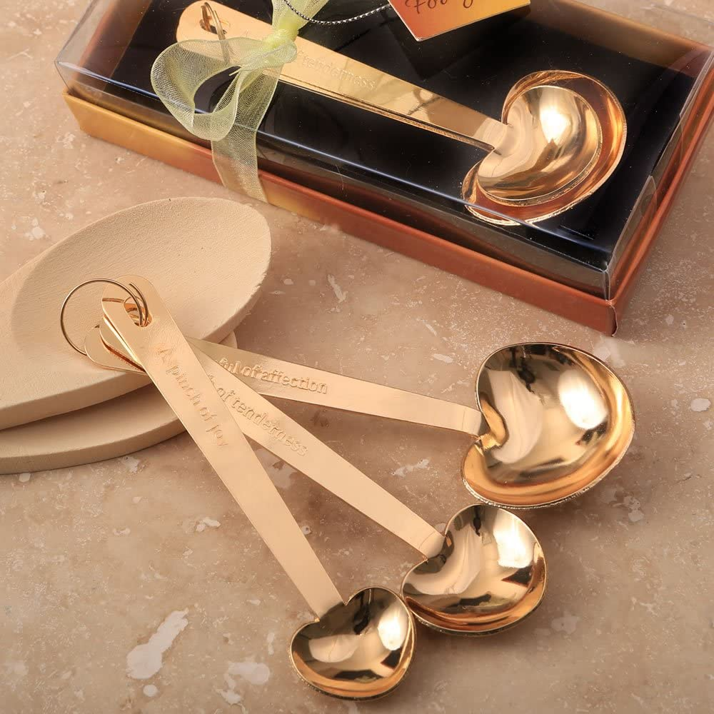 FavorOnline Love Beyond Ranking TOP8 Measure Set of Stainless He 3 Gold Steel Finally popular brand
