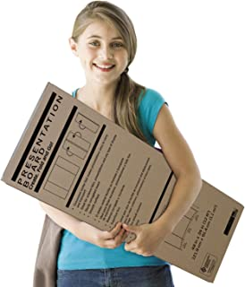 Pacon Extra Fold Presentation Board, White, 48