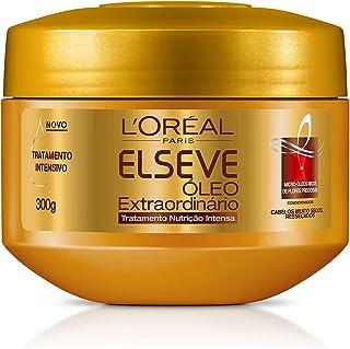 Creme de Tratamento Óleo Extraordinário Nutrição Intensa Elseve 300g, L'Oréal Paris, Branco