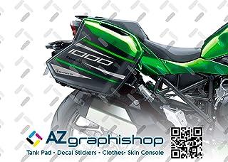 Lanceasy Motocicleta Pegatina De Gas Combustible del Tanque De Aceite Protector del Coj/ín De La Caja De La Etiqueta para Kawasaki Yamaha Toyota