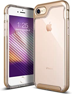 Caseology Skyfall for Apple iPhone 8 Case (2017) / for iPhone 7 Case (2016) - Clear Back & Slim Fit - Gold