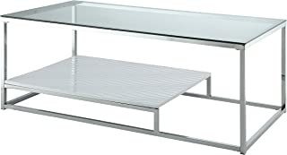 24/7 Shop at Home 247SHOPATHOME IDF-4231WH-C Coffee-Tables White