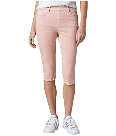 Jag Jeans Bryn Pull-On Twill Pedal Pusher (Cantaloupe) Women