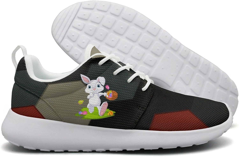 Easter Bunny Eggs Hunt Womens Flex Mesh Lightweight Running shoes