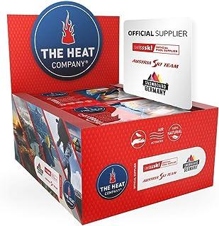 THE HEAT COMPANY Handvärmare – 10 eller 40 par – extra varma – handvärmepads – 12 timmar varma händer – omedelbar värme – ...
