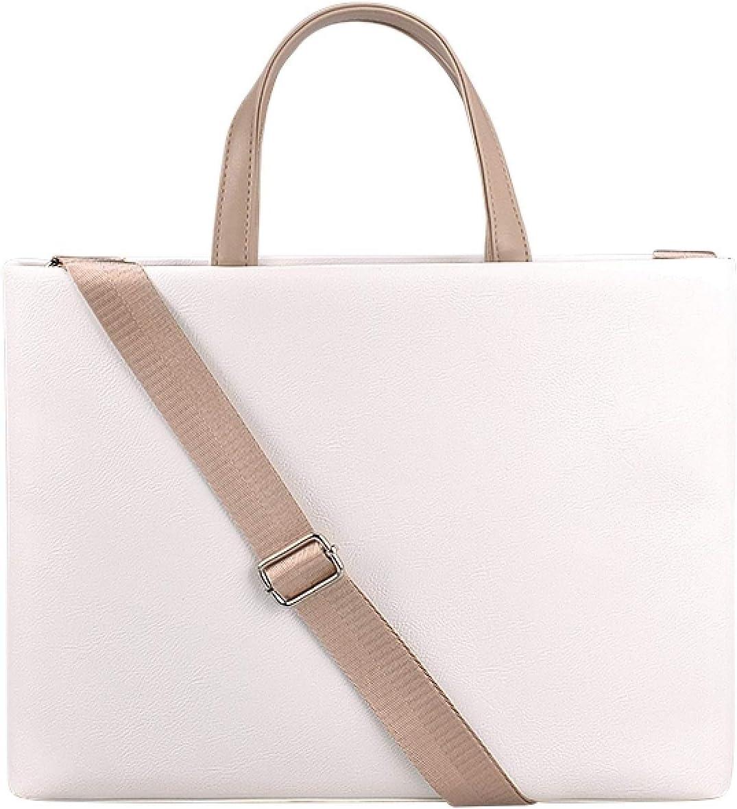 CAOMING PU Waterproof Laptop Topics on TV Regular store Handbag Crossbody Bag for 13.3 inch