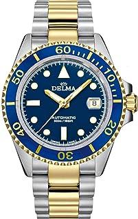 DELMA - Commodore Automatic Reloj para Hombre Analógico de Cuarzo con Brazalete de Acero Inoxidable 52701.690.6.041